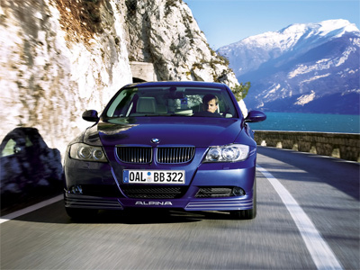 Alpina 3 Series. This is the modified 3 series
