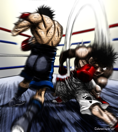 Z District Review Hajime No Ippo New Challenger