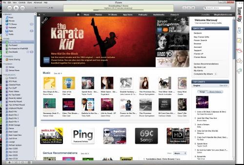 iTunes9.2
