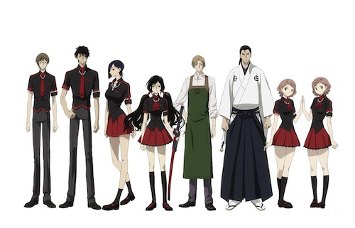 Blood C Anime Characters Wiki : Z district review blood c