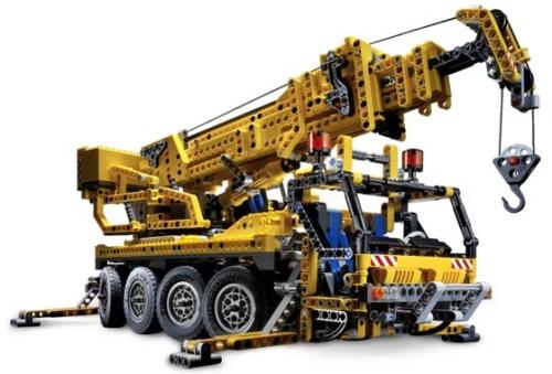 LegoMobileCrane
