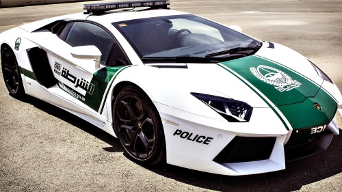 LamborghiniAventadorDubaiPolice