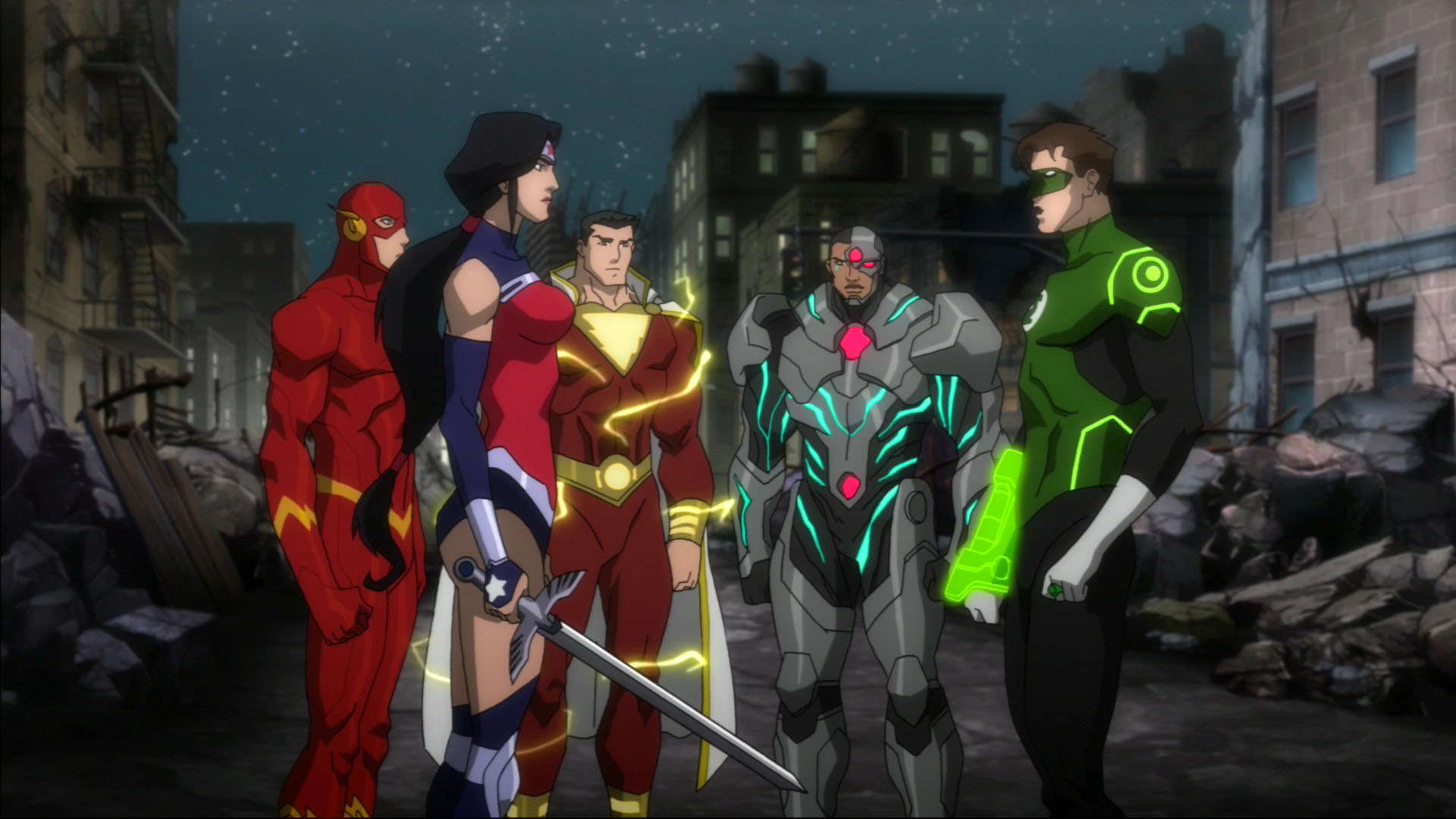 download justice league war animated movie in hindi